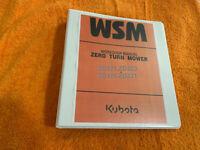 Kubota zd321 zd323 zd326 zero turn mower Workshop Service Repair Manual