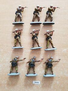 Britains Superdeetail Modern British SAS Soldiers 9 figures  (lot 3449)