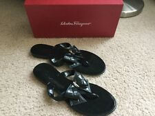 Salvatore Ferragamo mismatch women's 9/8 Bali sandals