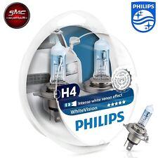 Philips White Vision Xenon Effect 2x H4 + 2x W5W 12342WHVSM 12V 60/55W bis 4300K