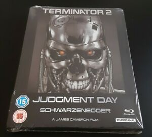 Terminator 2 Judgment Day Steelbook Edition anglaise Blu-ray Neuf Sous Blister