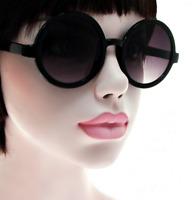 NWT Women Round Sunglasses Retro Shelby Cool Classic Fashion Style Large Frame