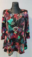 New Jersey🧡 Eyecatcher Tunika, Shirt, Kleid A-Linie, bunt Gr.2 (54/56)