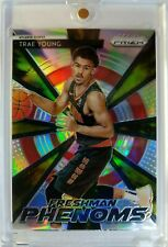2018-19 Prizm Freshman Phenoms Trae Young Silver Prizm Refractor Rookie RC #21