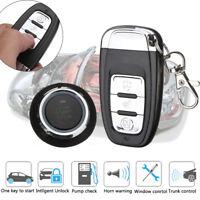 100m Car Alarm System Security Keyless Entry Push Button Remote Engine Start