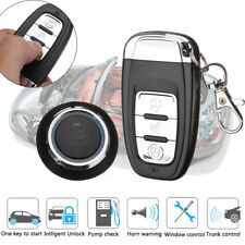 100m Car Alarm System Security Keyless Entry Push Button Remote Engine Start