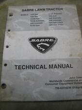 John Deere Sabre Tm-Gx10238 Technical Service Manual Several Models