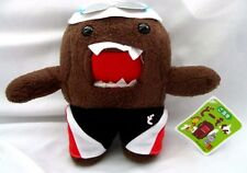 "Domo Kun in Swim Outfit with Swim Cap & Goggles 6"" Plush Stuffed Toy-New!"