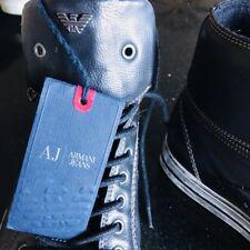 EMPORIO ARMANI Midnight Blue Sneakers