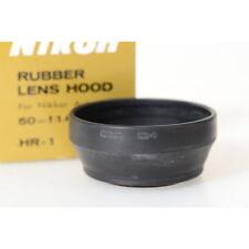 jab31601 Metallo controluce Mascherina NERA PER NIKON NIKKOR 50mm 1:1,2
