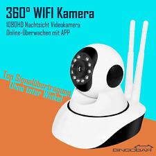 IP Kamera Wlan 1080P FHD Indoor Überwachungskamera Baby Cam Nachtsicht App-Fähig