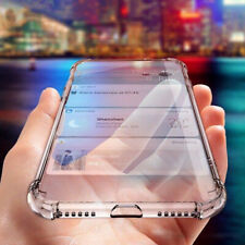 For iPhone 5 5s c SE Case ShockProof Crystal Clear Bumper Cover & Tempered Glass