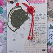 Korean Traditional Metal Bookmark Roof Tile Face Design FreeShipping