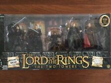 Helm's Deep battle set, Lotr, The Two Towers Mib 2002