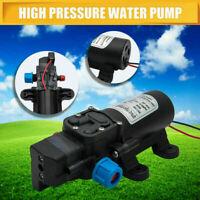 Pompa dell'acqua a membrana Ad Alta Pressione Autoadescante 12V 60W 5L/min BARCA