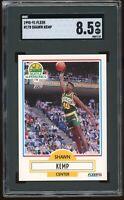 1990-91 Fleer #178 Shawn Kemp RC SGC Graded 8.5 = PSA 8.5? Sonics Rookie Card