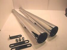 NEW Yamaha XS650 MAC Performance Exhaust Mufflers 004-0113 Megaphone Chrome