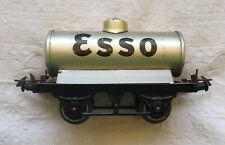 0 gauge HORNBY Trains Esso Tank Wagon 1950 Model