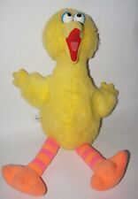 "VINTAGETG MUPPET Sesame Street 20"" Talking Big Bird1986 PLUSH TOY"