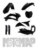 Kit Plastiche Acerbis Full Kit Carene KTM SX 125 144 150 250 2013 2014 Nero