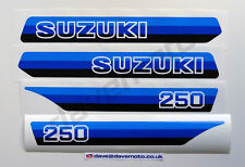 SUZUKI PE250X 1981 STICKER KIT DECAL KIT Enduro Twinshock Motocross Classic