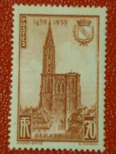 FRANCE 1939 70c Strasbourg Cathedral  vf MINT hinged  SG 653