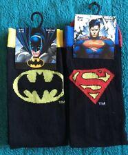 DC Comics Batman V Superman Character Socks 2 Pairs