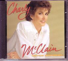 CHARLY MCCLAIN Ten Year Anniversary 1987 CD Mickey Gilley Wayne Massey 80s Hits