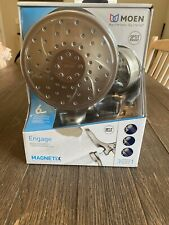 Moen Engage Magnetix 6-Spray Hand Shower and Showerhead Combo Brushed Nickel New