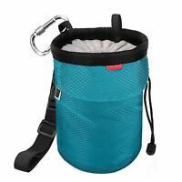 Rhino Valley Climbing Chalk Bag No Leak Drawstring Closure Bag w/Adjustable Belt