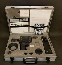 Braun Nizo 801 Macro Set im Koffer