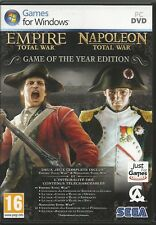 Total War: Empire/Total War: Napoleone-Game of The Year Edition (PC, 2013)
