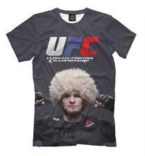 Men's t-shirt Khabib Nurmagomedov - Russian mixed martial artist MMA fighter UFC