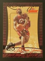 2004-05 Fleer Throwbacks LeBRON JAMES #23 (2nd YEAR) Cavaliers L@@K 🔥🔥🔥🔥🔥