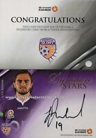 2016 - 17 A League Signature Stars Card SS 07 Josh Risdon #1/180