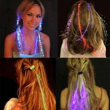 LED Flashing Hair Hairpin Light Up Braid Flash Glowing Hair Accessories For Kids