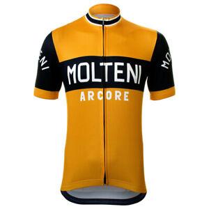 Cycling Short Sleeve Jersey Molteni Arcore Cycling Jersey