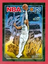 "2019-20 PANINI NBA HOOPS (BKB) Donovan Mitchell SP ""GET OUT THE WAY"" CARD #6"