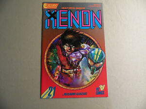 Xenon Heavy Metal Warrior #21 (Eclipse 1988) Free Domestic Shipping