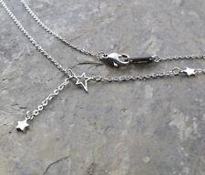 N340 Halskette Edelstahl Anhänger Herz Damen Necklace Heart Pendant Silber