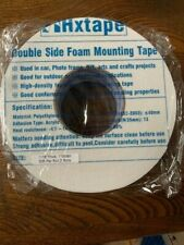 Hxtape Double Sided White PE Foam Tape, 1/16