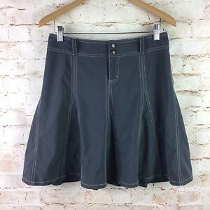 Athleta Gray Tennis Athletic Pleated Wear About Skort Skirt Size 4