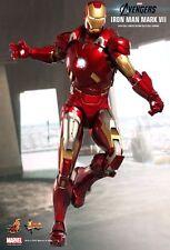 Hot Toys Iron Man Avengers Mark VII MK7 Tony Stark MMS185 NEW/Sealed NRFB!