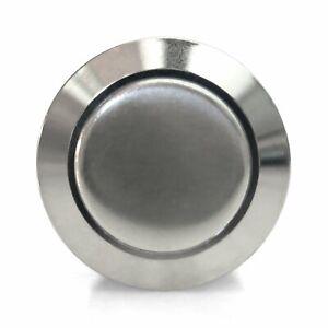 16mm Domed Latching Billet Button Keep It Clean SW4916L street truck rat hot rod