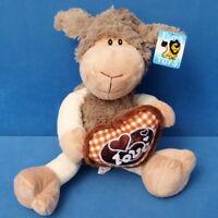MORGENROTH SCHAF LAMM STOFFTIER SCHLENKER 35 CM SHEEP LOVE TEDDY