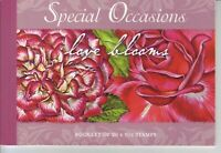 Australia Post Prestige Booklet - 2008 - Special Occasions - Love Blooms - MNH
