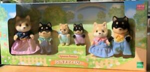 Neuf Familles Sylvanian Shiba Inu Famille Calico Critters Epoch Japon 2021