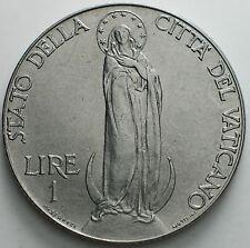 1941    Vatican City   1   Lira Pius  XII   UNC