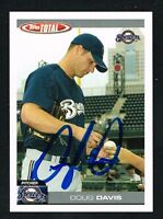 Doug Davis #301 signed autograph auto 2004 Topps Total Baseball Card