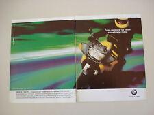 advertising Pubblicità 1998 MOTO BMW K 1200 K1200 RS